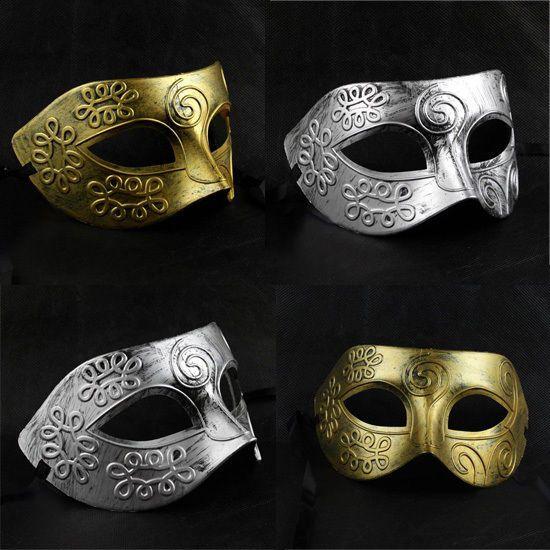wholesale 60pcslot party costume venetian masquerade retro mask 2 color