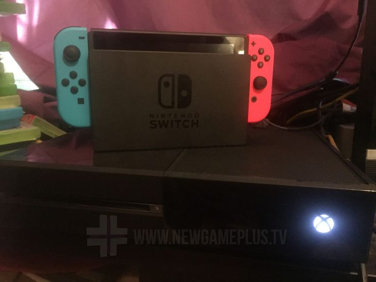 Nintendo Switch questions answered - size of the Switch in its dock compared to an Xbox One.