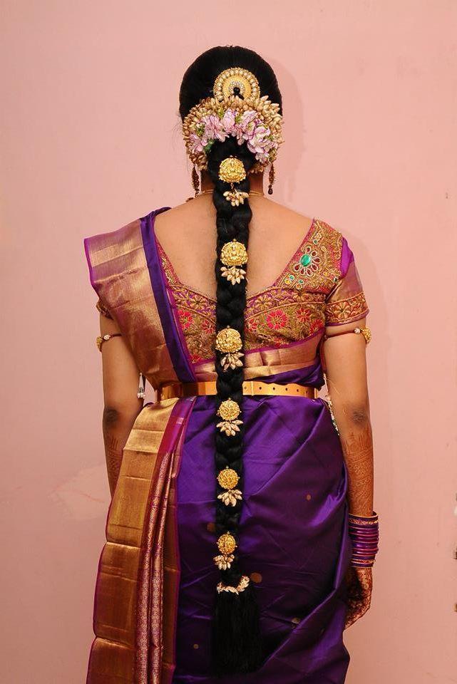 Bridal Blouse Embroidery for Kanjivaram Saree