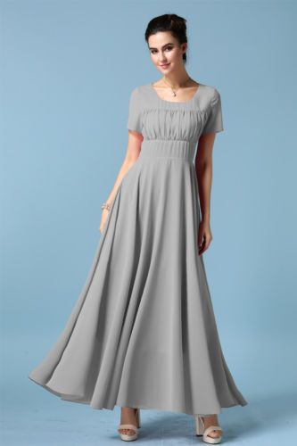 Womens-Sweet-Chiffon-Dress-Elegant-Noble-Party-Evening-Long-Dress-Formal-Gown