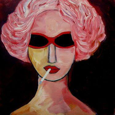 """Saatchi Art Artist Nelly Van Nieuwenhuijzen; Painting, """"Summer holiday"""" #art"""