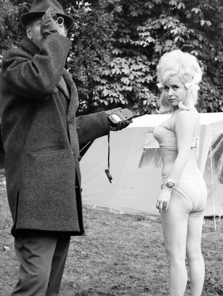 Barbara Windsor in Carry On Camping. 1969