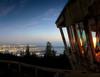 Vancouver Wedding Venues: Grouse Mountain. Capacity up to 150.