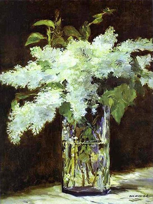 Edouard Manet, White Lilac.  See The Virtual Artist gallery: www.theartistobjective.com/gallery/index.html