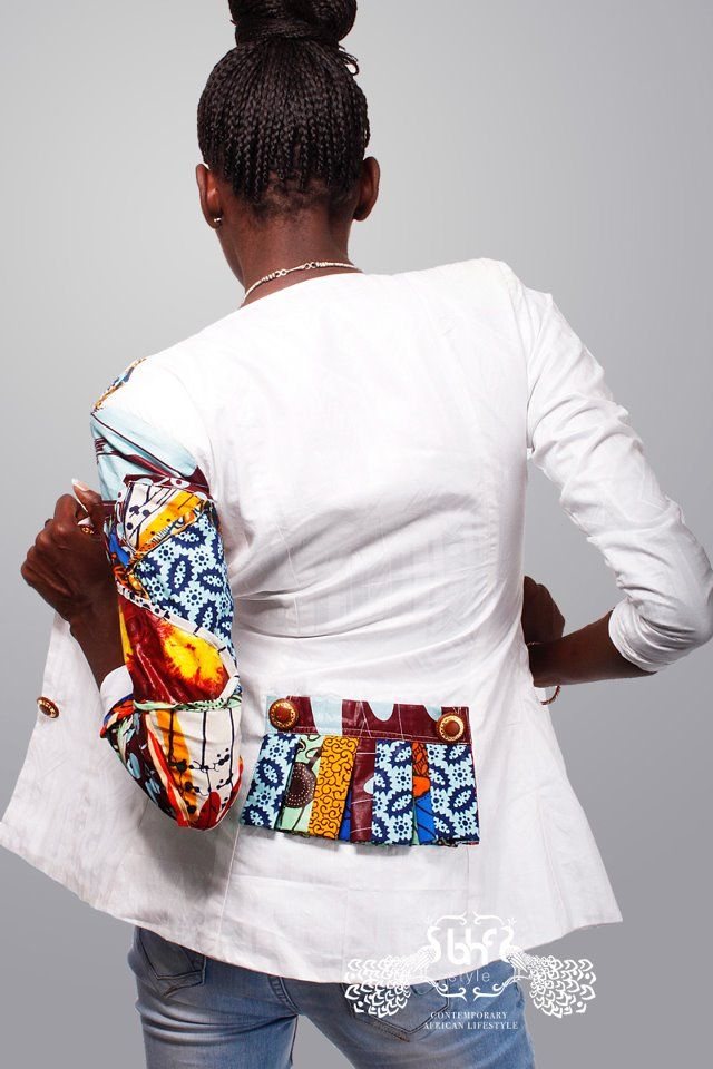 Spring and summer 2014 here I come....love love this jacket. Moda Africana THE BHF NETWORK African Print in Fashion