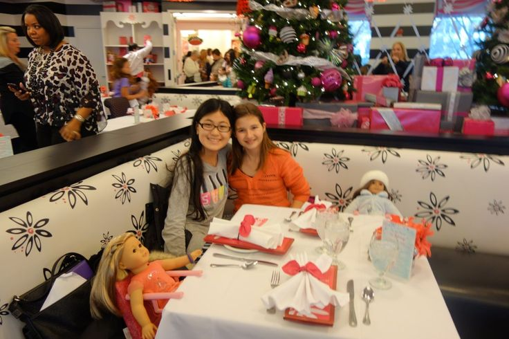 American Girl Cafe lunch