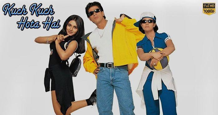 Kuch Kuch Hota Hai 1998 1080p Full Hd Movie Kuch Kuch Hota Hai Bollywood Movies Bollywood Movie