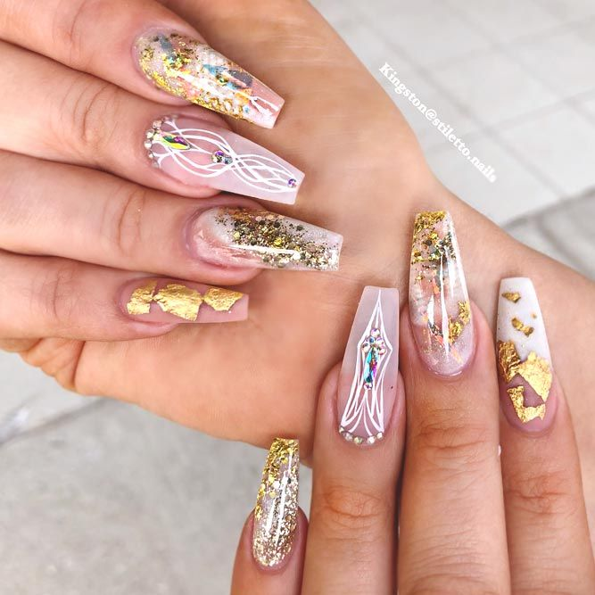 2019 Coffin Nail Trends Nail Colors 2019 Summer Nail Colors 2019