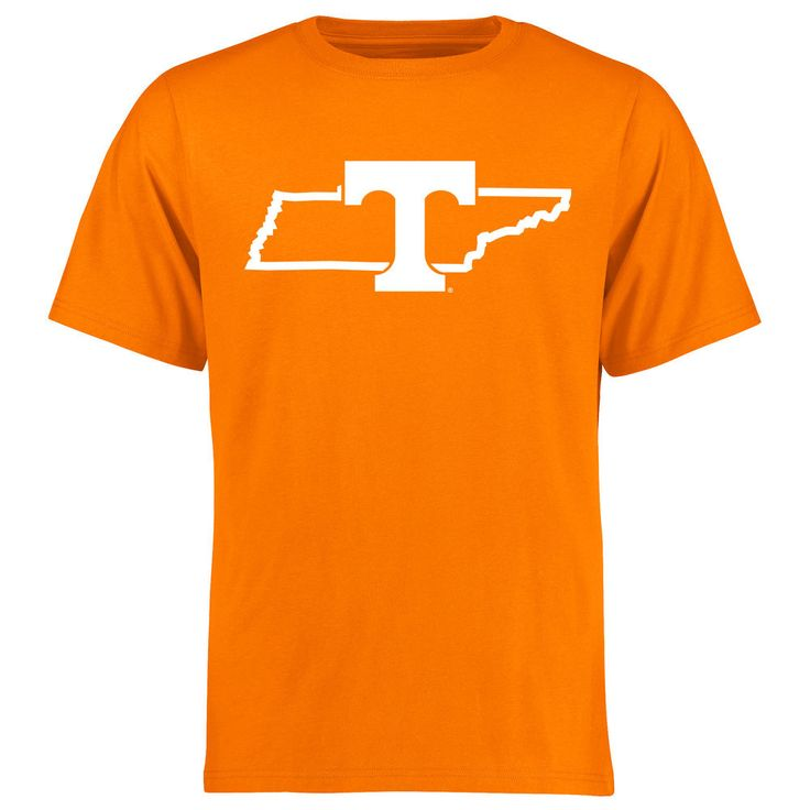 Men's Tennessee Orange Tennessee Volunteers Tradition State T-Shirt
