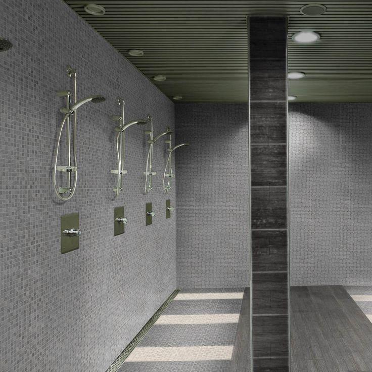 Mosaico Chau | Lamosa Pisos & Muros / 33 X 33 cm / Beige - Gris / Mate