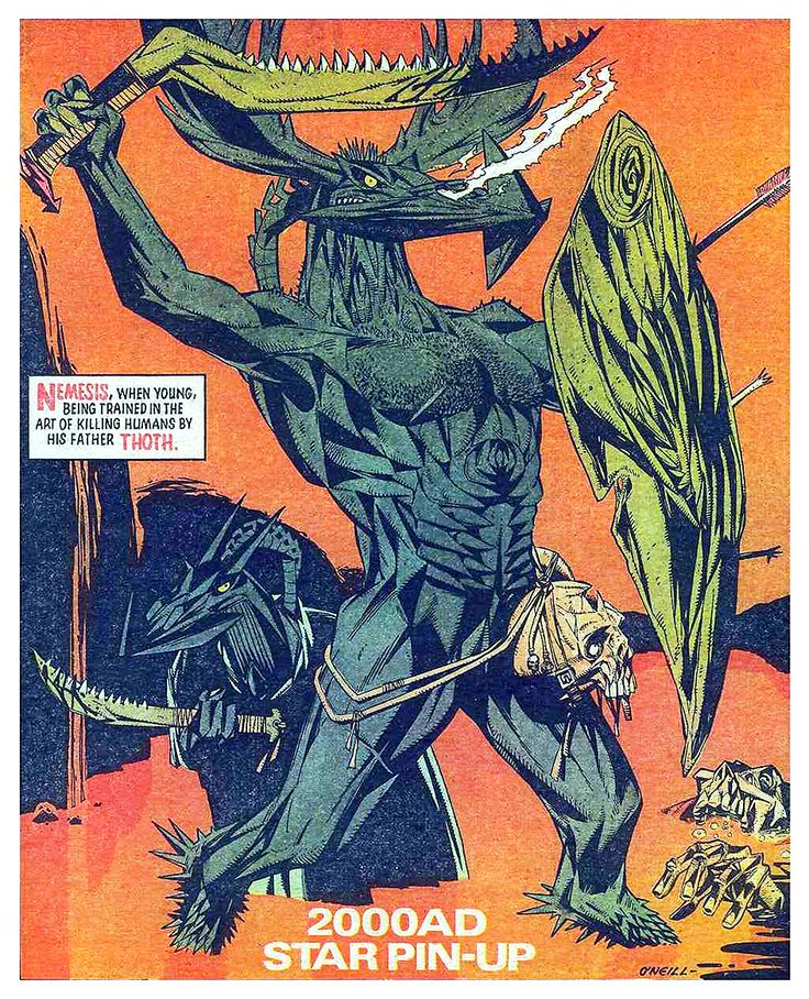 Kevin O'Neill_2000ad Nemesis star scan