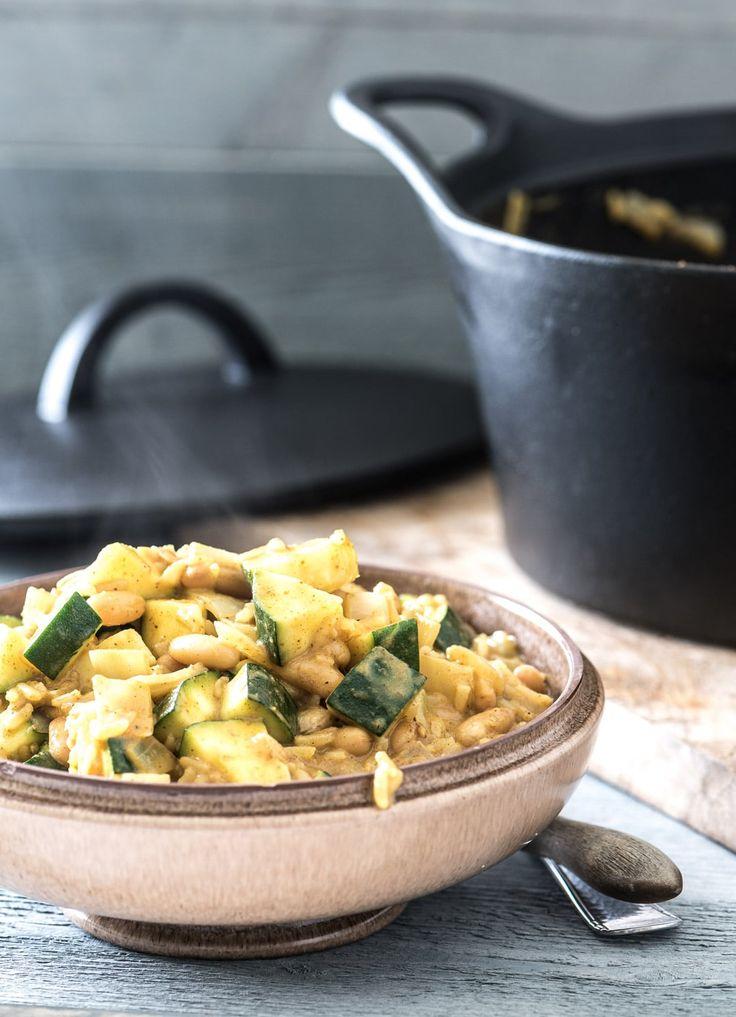 Super snelle éénpans curry recept