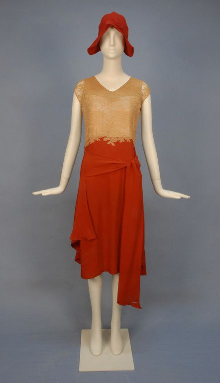 G by guess red dress 1930