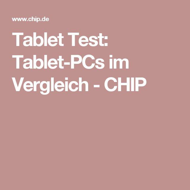 Tablet Test: Tablet-PCs im Vergleich - CHIP