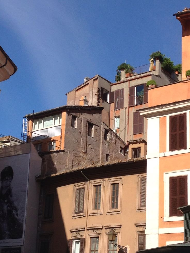 Rome - Piazza San Lorenzo in Lucina - terrace ❤️