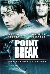 """Keanu Reeves is pretty poor actor but this is probably the best bit of acting he's ever done in """"Point Break"""". Great film"""