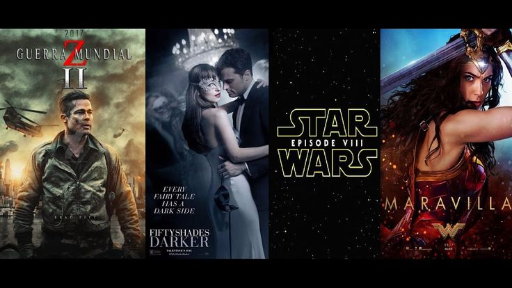 estrenos del cine 2017, las películas que podrás ver el próximo año