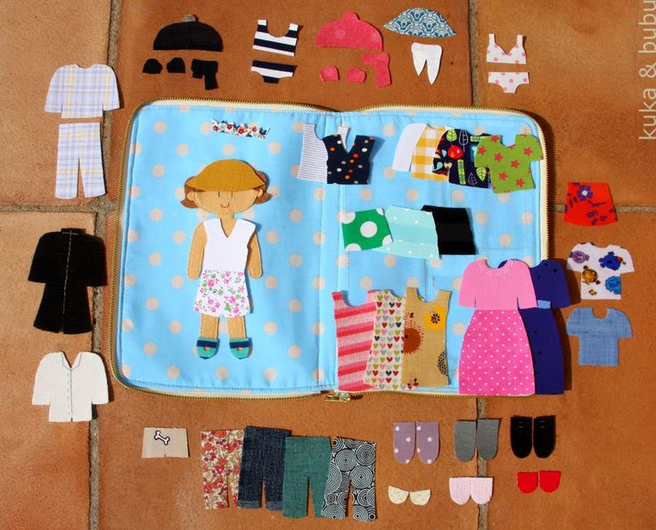 kuka and bubu: Dress the doll - Viste la muñeca(getting rid of fabric scraps!)