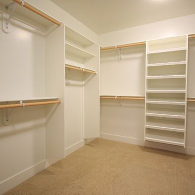 walk in closet organization hanging shoes purses etc spaces walk in - Wall Closet Design