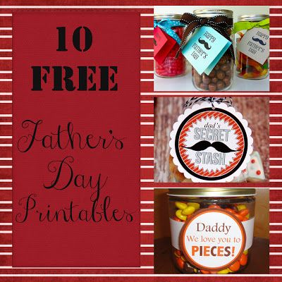 10 Free Father's Day Printables