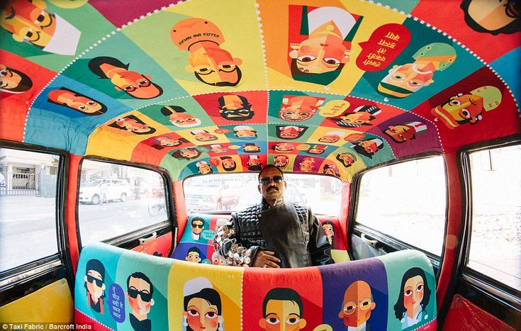 Taxi Fabric have connected young designers with cab drivers to create 26 colourful cars, s...