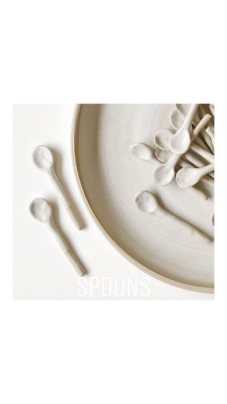 by Annemieke Boots Ceramics stoneware - tableware - spoons
