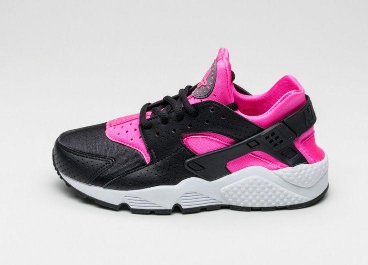 Nike Air Huarache Schwarz Pink