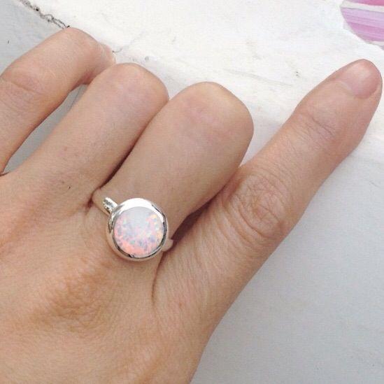 Image of Opal Circle Ring
