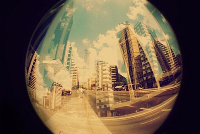 city.: Artsy Photography, Fisheye, Favorite Places, Magazines, The Cities, Cities Life, Fish Eye, Lomo Photography, Photography Ideas