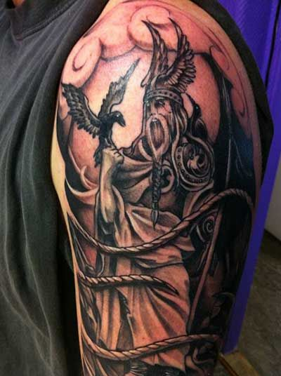 Tatuagens de Magos e Duendes: nas Costas, no Braço, na Perna