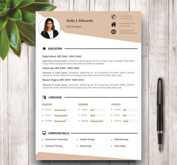 The 109 best Modern and Creative Resume Templates images on - modern resumes