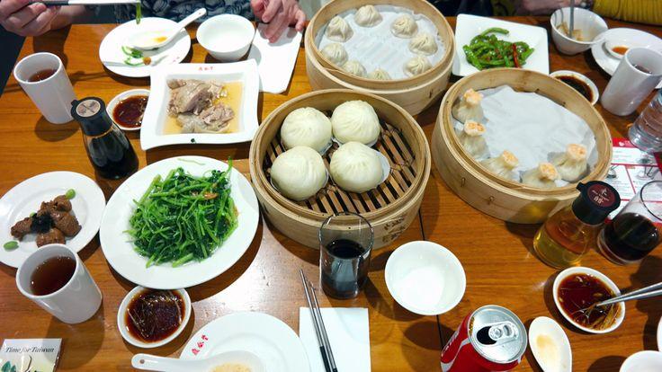 De food markets van Taiwan