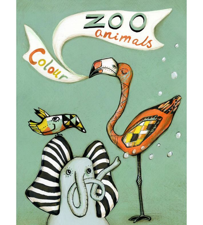 A Zoo colouring book for children of all ages. It has 16 unique illustration of different animals. The size is 21 x 29,7 cm 8,3 x 11,7 inches.   Follow her current work on facebook  https://www.facebook.com/pages/Sofie-Boersting/242762025788523  Or have a look at Sofie Børstings website.  www.sofieboersting.com. You can buy this piece here: www.artrebels.com #artrebels #rebelkids #art