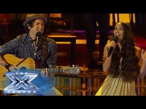 Alex & Sierra Covers ''Blurred lines '' by Robin Thicke  @The X Factor USA  2013 TOP 16 LIVE SHOW