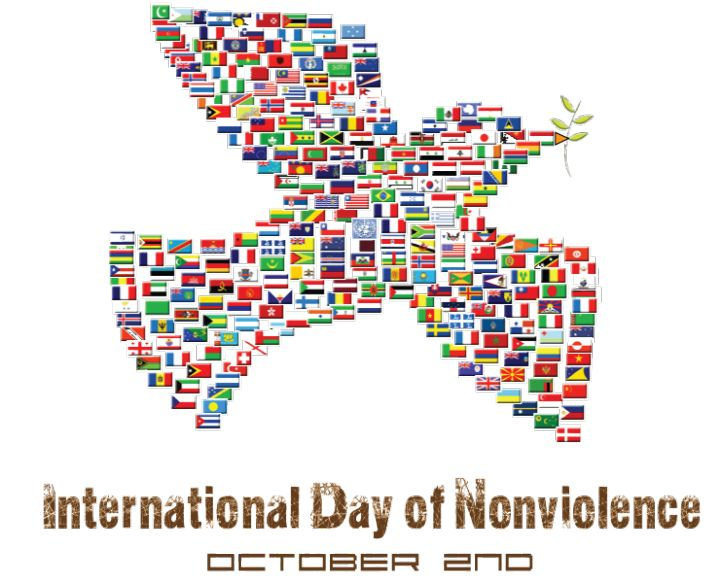 October 2 - International Day of Non-Violence