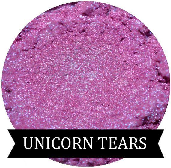 UNICORN TEARS Iridescent Purple Eyeshadow by SpectrumCosmetic