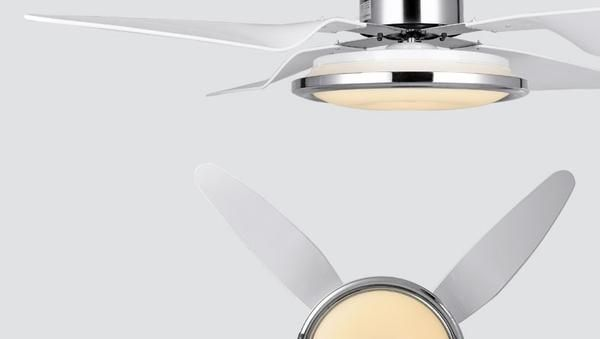 Pacific Coast Collection Elegant Bedroom Fan Light With Modern Remote Control