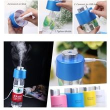 2016 Высокое Качество Портативный USB Бутылки Воды Caps Увлажнитель Увлажнитель воздуха Туман Паровая Чайник крышка увлажнитель воздуха(China (Mainland))