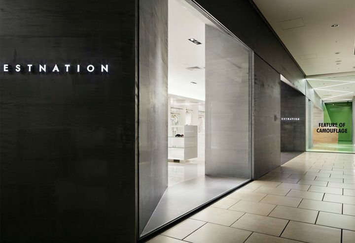 ESTNATION store by Moment Design, Nagoya Japan store design