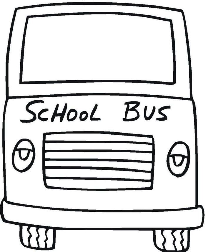 Bus Coloring Pages Collection School Coloring Pages School Bus