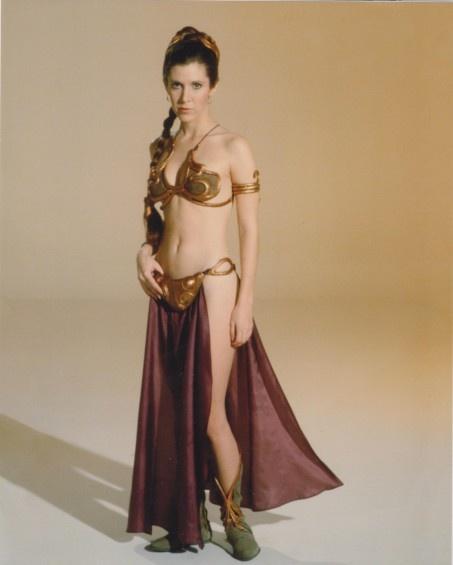 Slave Leia  - http://slaveleia.wikia.com #star #wars #starwars #leia #slave #slaveleia
