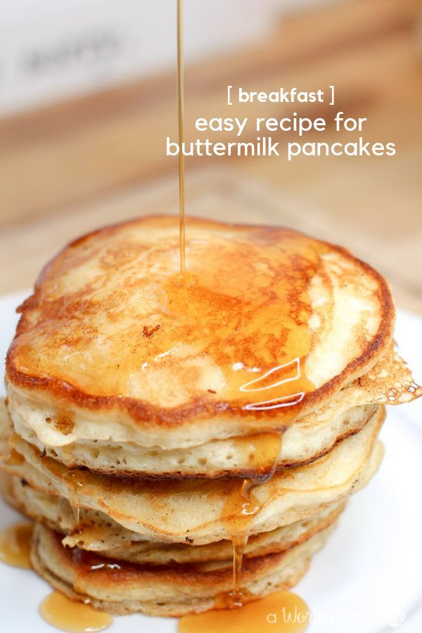 Breakfast Is The Best Way To Start The Day Filled With An Easy Pancake Recipe Try The Best Buttermilk C Cornmeal Pancakes Dessert Recipes Easy Pancakes Easy