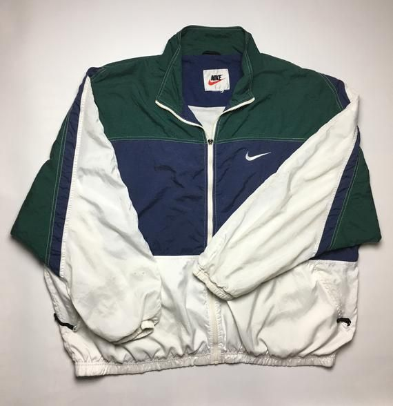 Nike Nike Air Tricolor men's full zip Hoodie size Depop