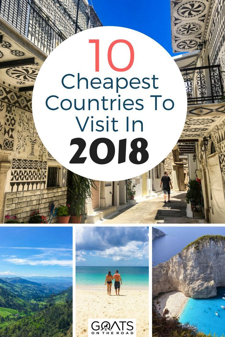 Top 10 Cheapest Countries To Visit In 2018 Low Budget Travel Affordable Travel Budget Travel Destinations Travel Destinations Affordable Countries To Visit