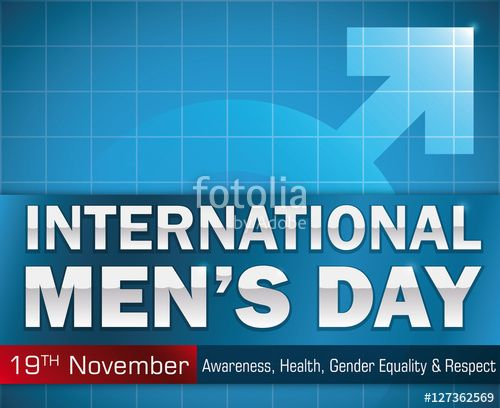 Reminder Date and Greeting Message for International Men's Day
