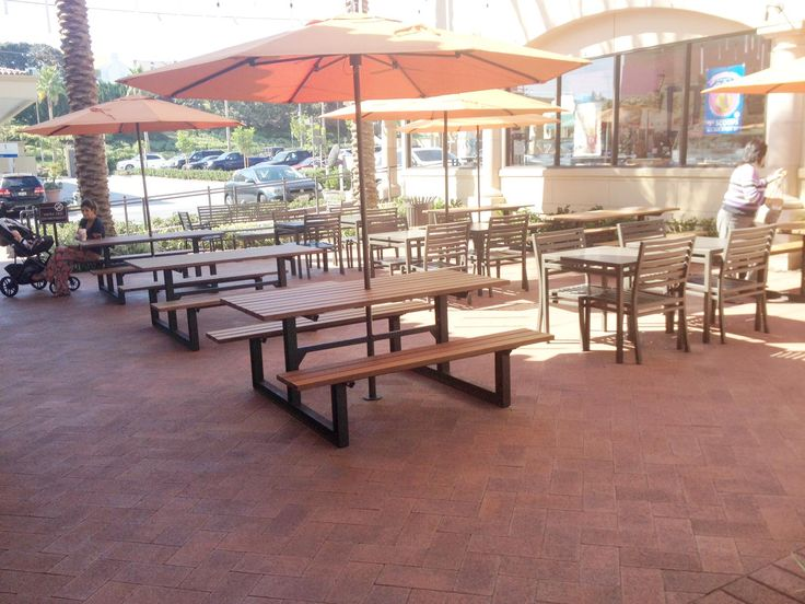 Maglin's MLPT210 cluster seating looks great at the Newport North Center, Irvine Company, CA. #maglin #maglinsitefurniture