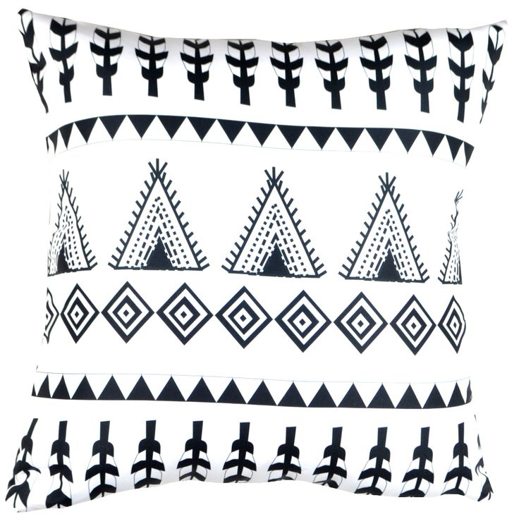 Designer decorative Folk pillow № gd379