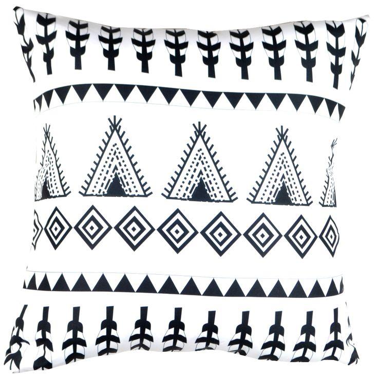 Designer decorative Folk pillow № gd379