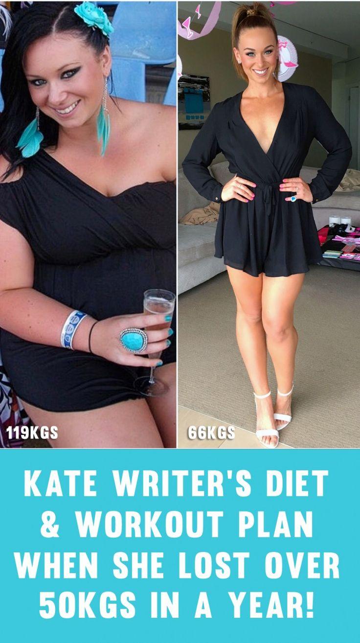 Kate Writer's Full Training & Diet Plan For How She Lost ...