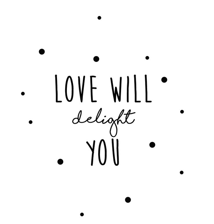 Muursticker babykamer Love will delight you | Muurstickers babykamer | Geboortesticker Company